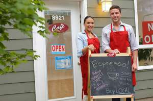 cafe business partnership