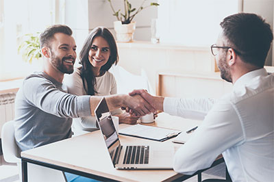 husband wife business partnership meeting