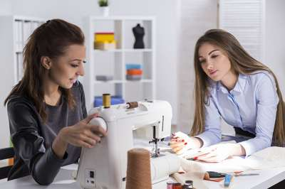 sewing partners supporting