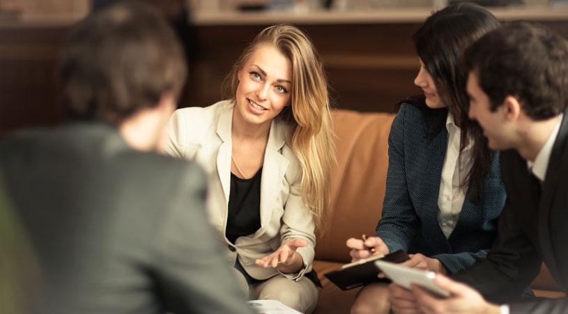business partners preparing shareholder agreement checklist